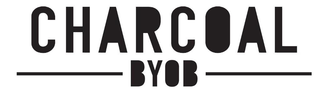 Charcoal BYOB Logo
